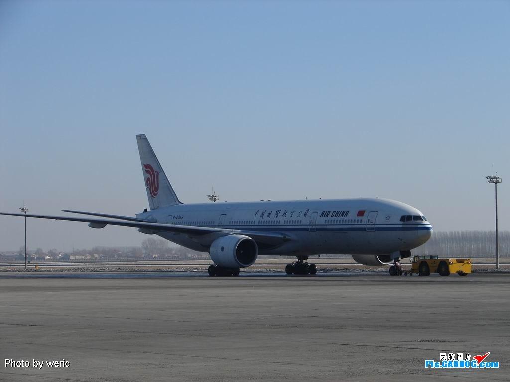 [原创]▅▅◣ 春节期间哈尔滨很热闹啊,波音、空客大聚会,标准内场图,标题要长~~~~~~~~~~~~~~~▅▅◣ BOEING 777-200 B-2059 中国哈尔滨太平机场