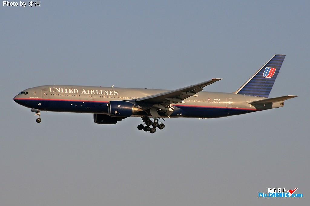 [原创](YO)U A(RE) 老样子 BOEING 777-200 N784UA 中国北京首都机场