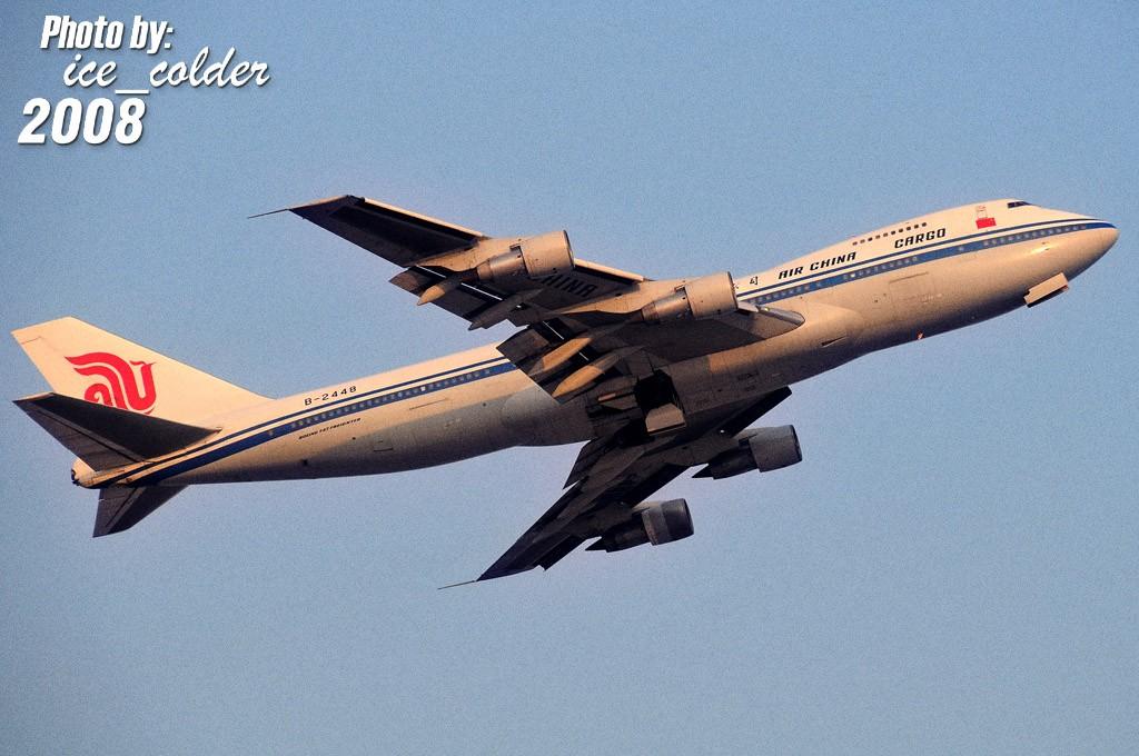 [原创]B-2448 Film BOEING 747-200F B-2448 中国北京首都机场