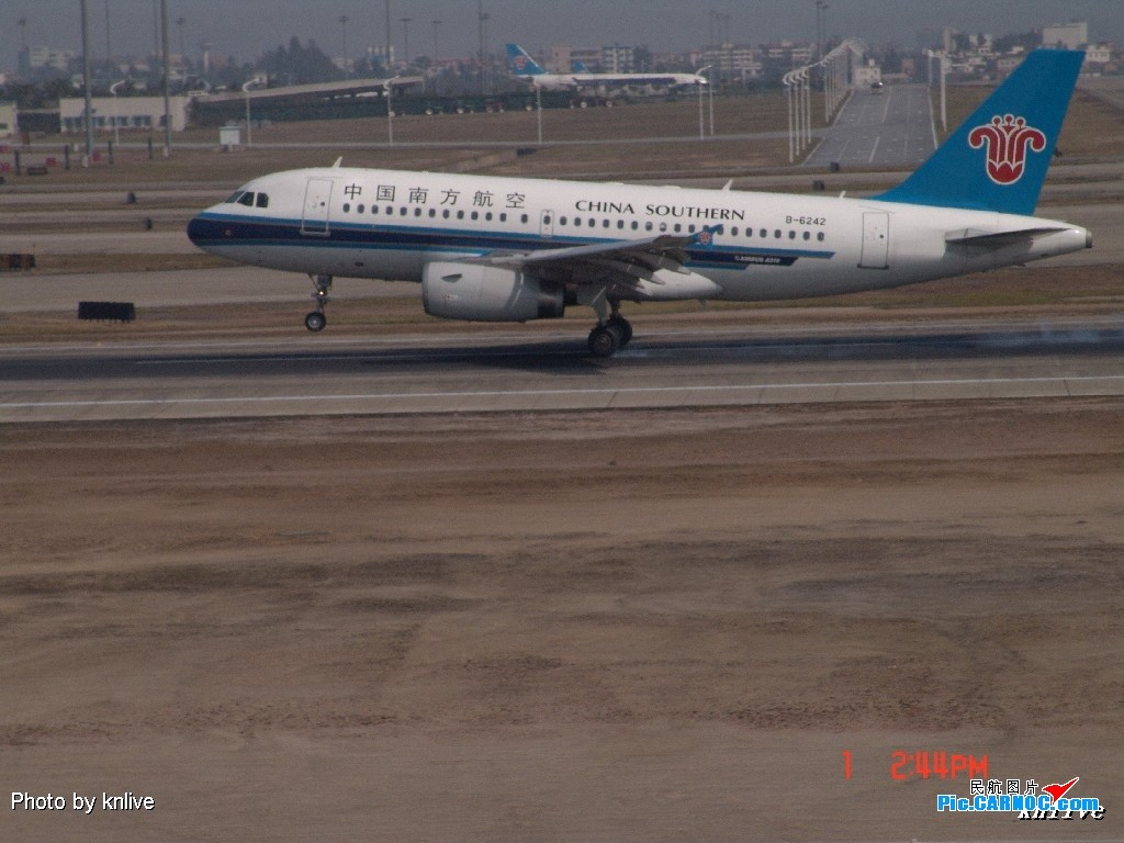 Re:[原创]3月1日,ZGGG飞机大杂烩 AIRBUS A319 B-6242