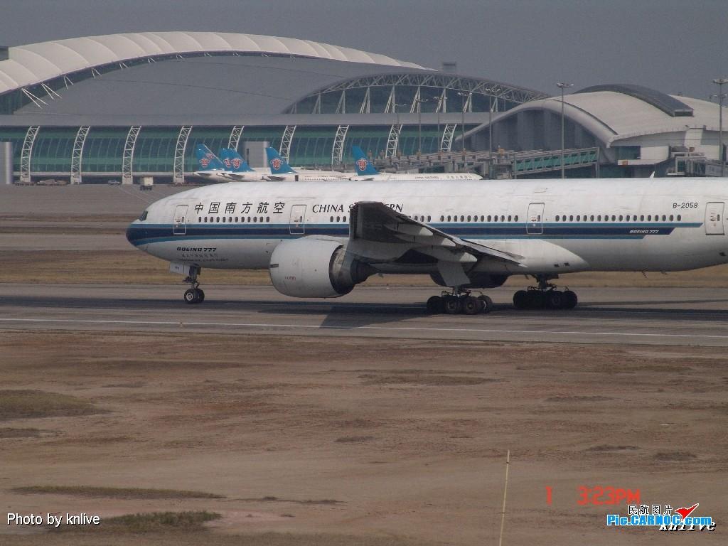 Re:[原创]3月1日,ZGGG飞机大杂烩 BOEING 777-200ER B-2058