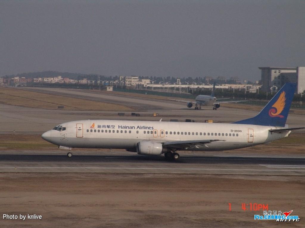 Re:[原创]3月1日,ZGGG东西两条跑道打飞机 BOEING 737-400 B-2990