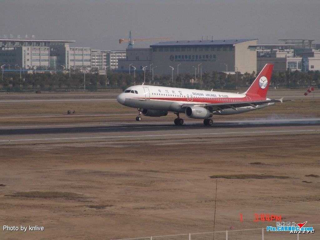 Re:[原创]3月1日,ZGGG东西两条跑道打飞机 AIRBUS A320 B-6325