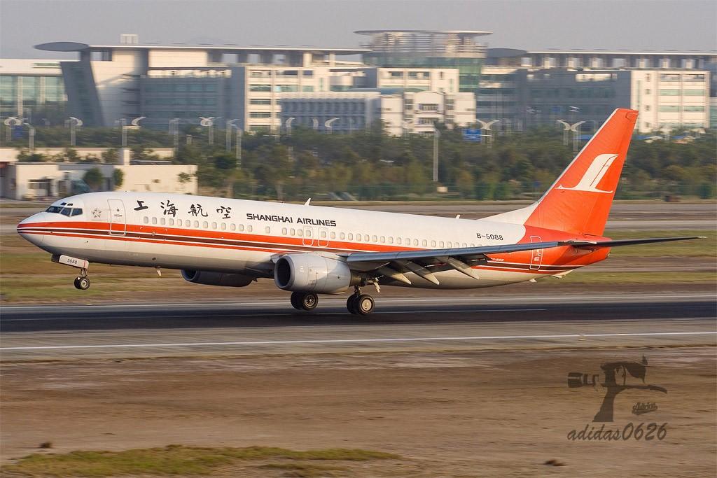 Re:[原创][深圳打机队]=====787了===== BOEING 737-800 B-5088 中国广州白云机场