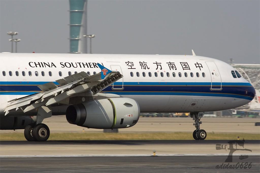 Re:[原创][深圳打机队]=====787了===== AIRBUS A321-200 B-6318 中国广州白云机场