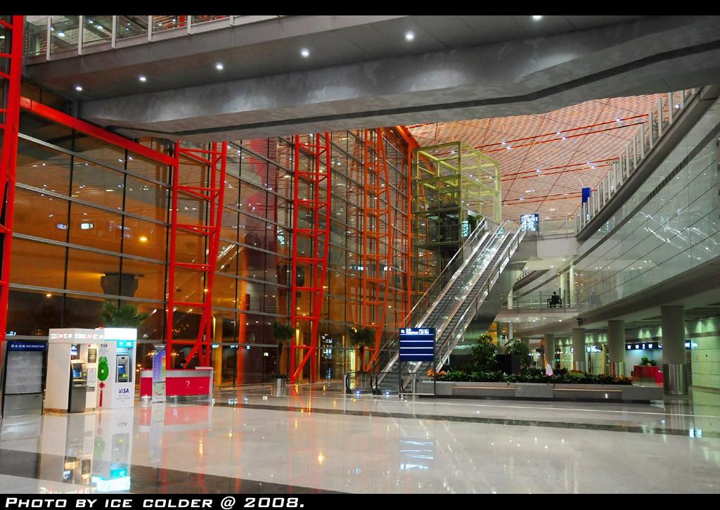 Re:[原创]还是决定去T3里面走一走,看一看。    中国北京首都机场