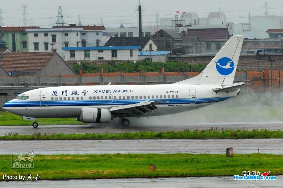 """Re:[原创]☆☆☆☆☆ 冷落了谁也不能冷落了它-""""萧山的'地主'"""" BOEING 737-500 B-2591 中国杭州萧山机场"""