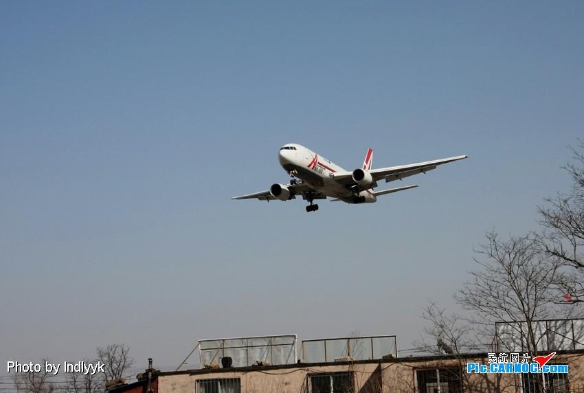 大连机场飞机降落图片