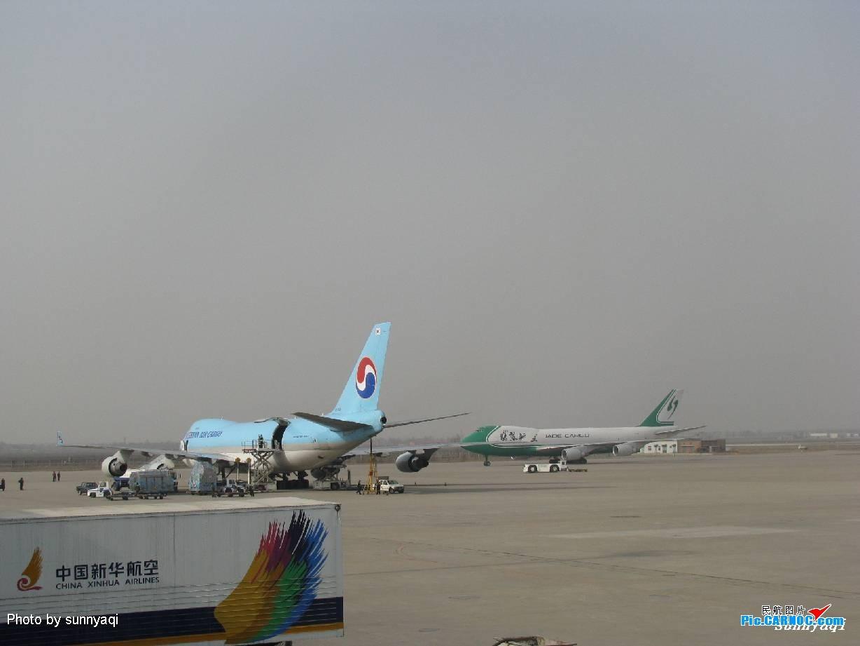 天津滨海国际机场运营飞机
