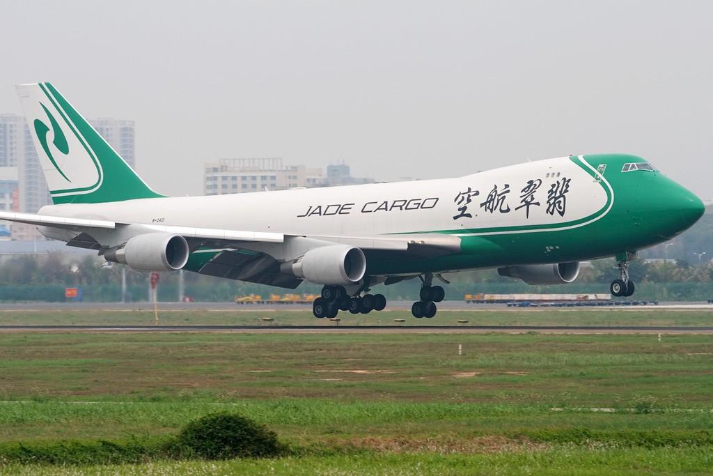 [原创][深圳打机队]=====难以言表的星期天===== BOEING 747-400F B-2421 深圳宝安国际机场