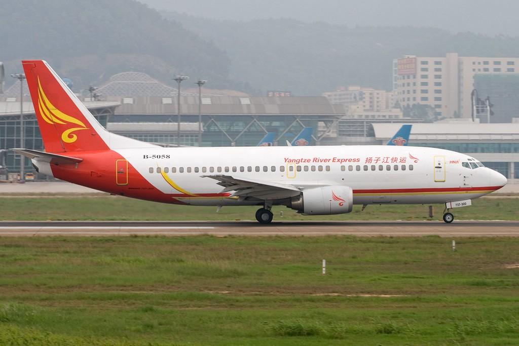 Re:[原创][深圳打机队]=====难以言表的星期天===== BOEING 737-300 B-5058 深圳宝安国际机场