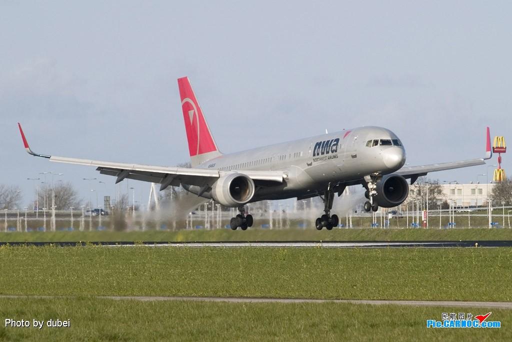 Re:[原创]EASU - 把最精彩的照片送给喜欢飞机的你们 - part A BOEING 757-200 N546US Netherlands AMSTERDAM SCHIPHOL
