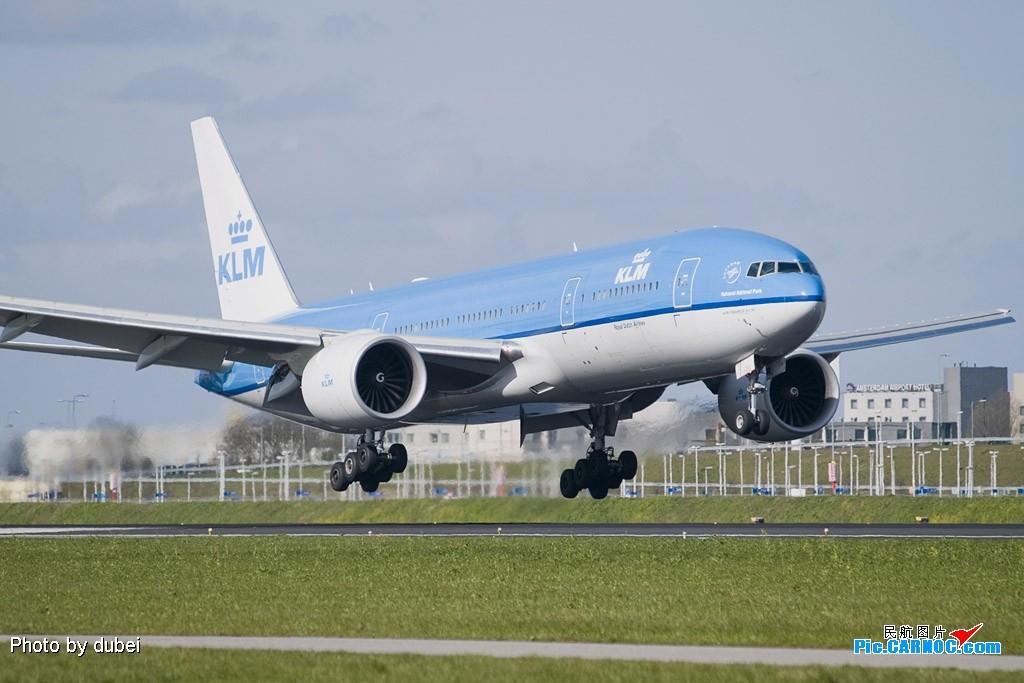 Re:[原创]EASU - 把最精彩的照片送给喜欢飞机的你们 - part A BOEING 777-200  Netherlands AMSTERDAM SCHIPHOL