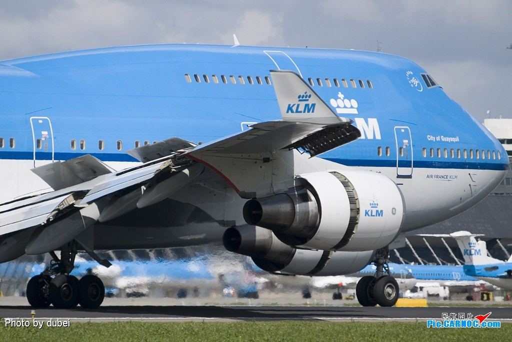 Re:[原创]EASU - 把最精彩的照片送给喜欢飞机的你们 - part A BOEING 747-400  Netherlands AMSTERDAM SCHIPHOL