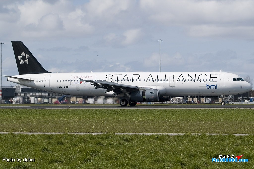 Re:[原创]EASU - 把最精彩的照片送给喜欢飞机的你们 - part A AIRBUS A320 G-MIDL Netherlands AMSTERDAM SCHIPHOL