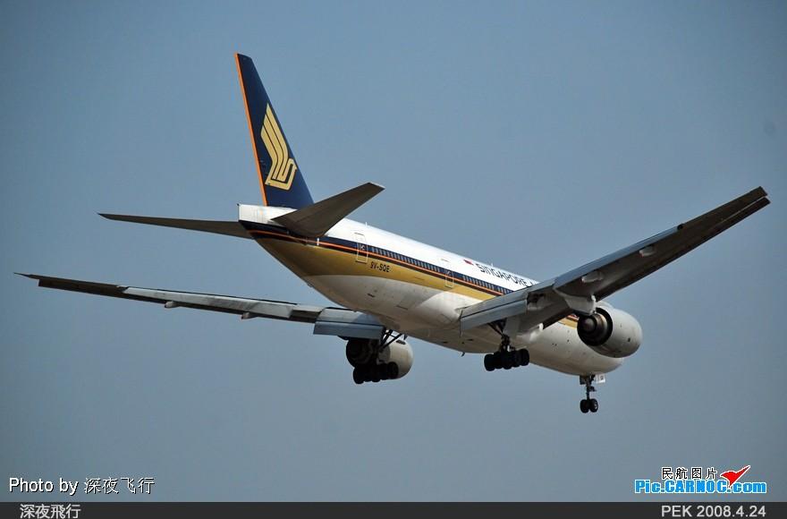 Re:[原创]RP如此重要!记PEK我的第一次打灰机... BOEING 777-212(ER) 9V-SQE 中国北京首都机场  飞友