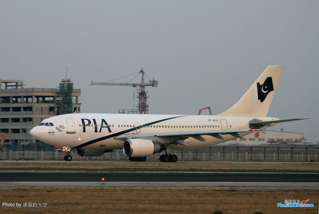 Re:早上拍蒙航晚上拍巴航,都是A310。。。。 AIRBUS A310-300 AP-BEQ 中国北京首都机场