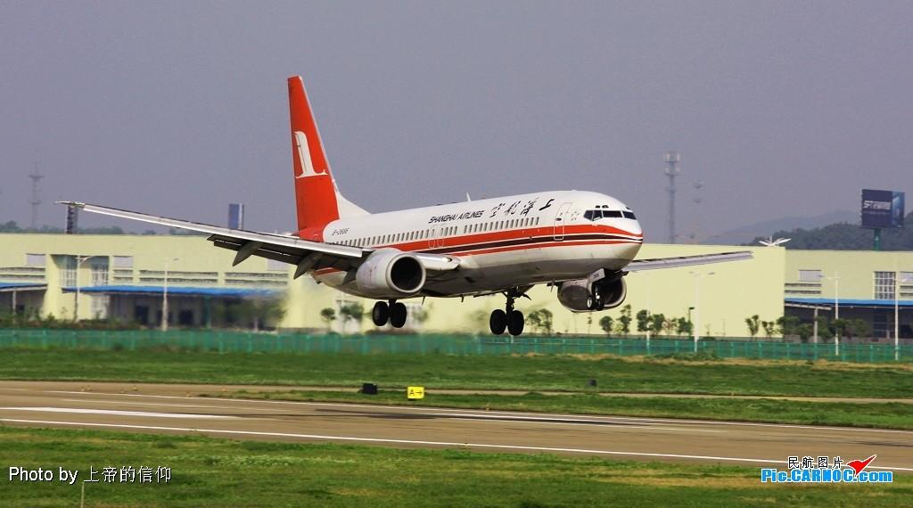 [原创]NKG B-2686非可乐非小翼 落地一组 BOEING 737-800 B-2686 中国南京禄口机场