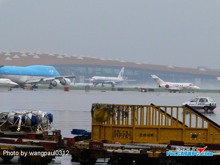 [原创]吹水,拉烟,T2乱拍 B757  北京首都国际机场