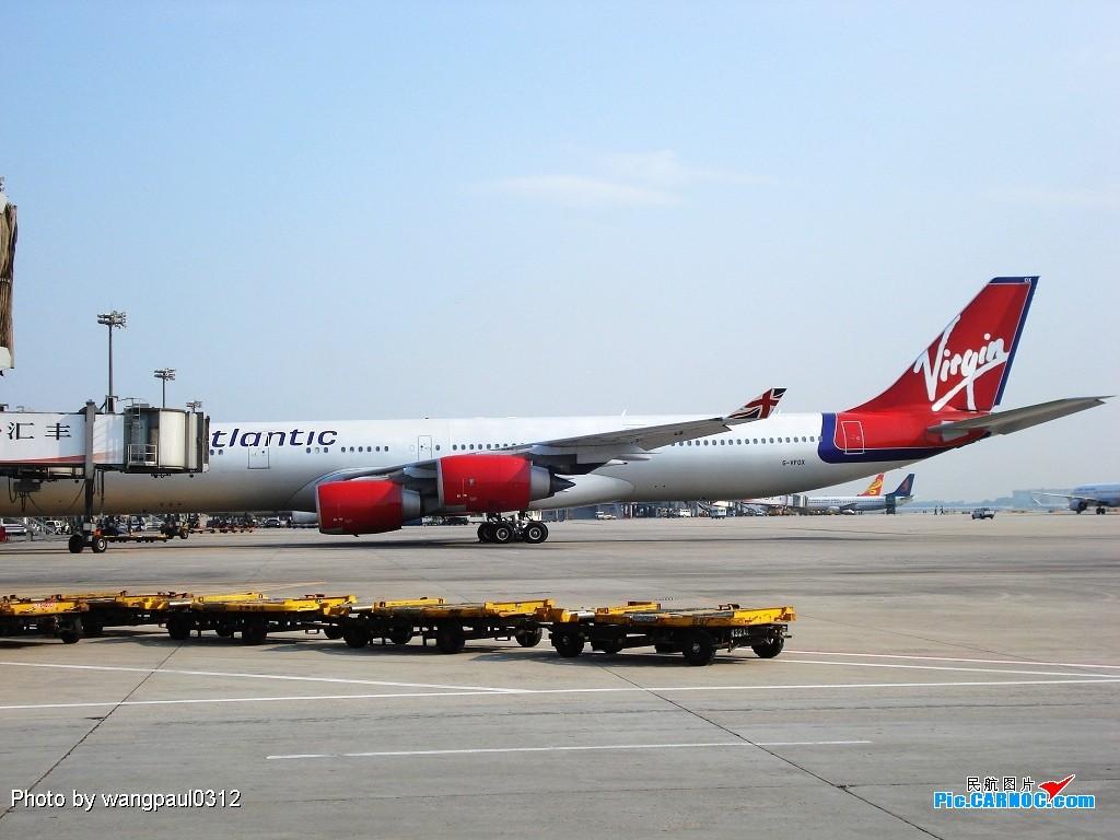 Re:[原创]维珍346再次光临北京 A340-600 G-VFOX 北京首都国际机场