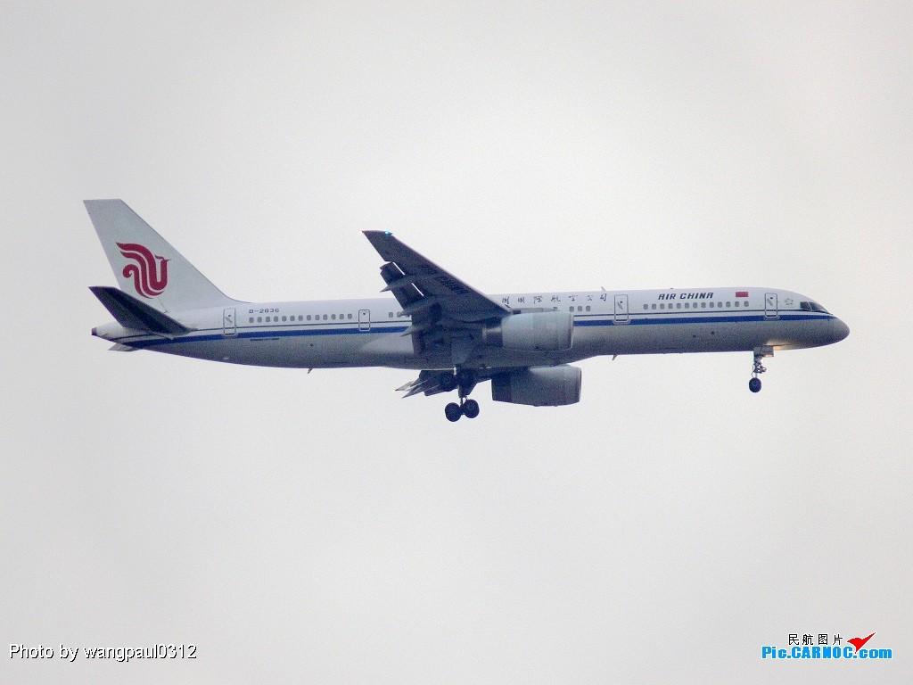 [原创]美男子和小姨跑到一起了! BOEING 757 B-2836 北京首都国际机场
