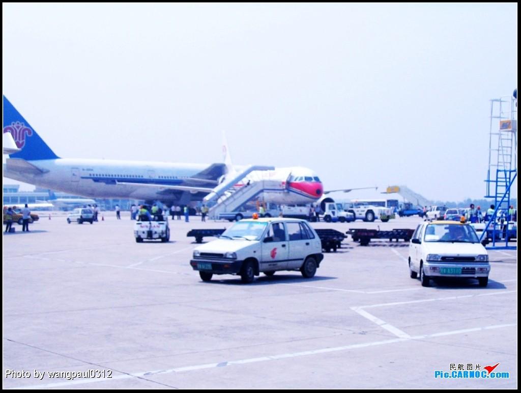 [原创]首都机场发生飞机地面刮蹭事故