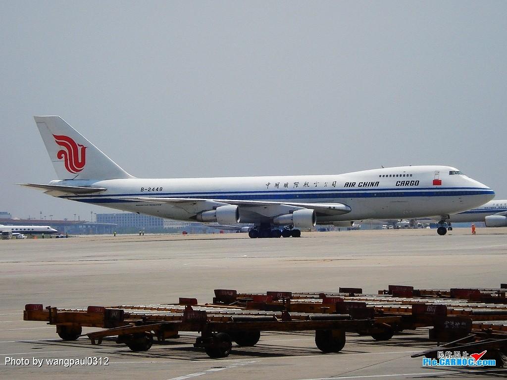 [原创]星空天合一起来! BOEING B747F B-2448 北京首都国际机场