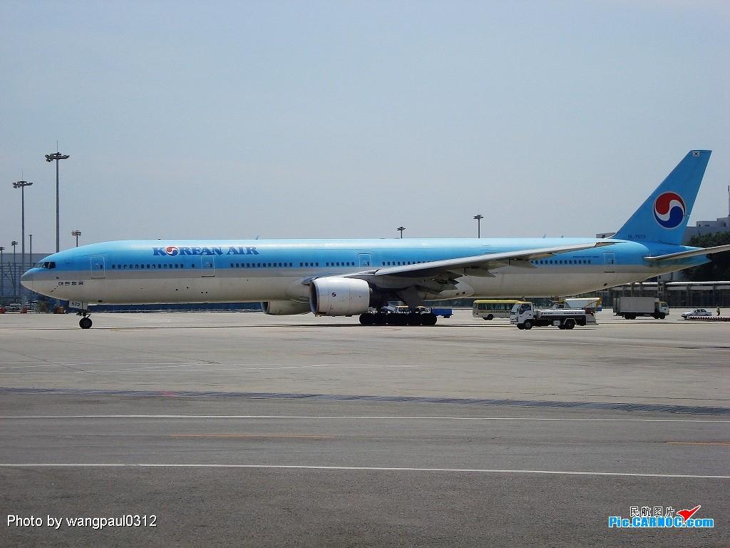 Re:[原创]星空天合一起来! BOEING B777-300 HK7573 北京首都国际机场