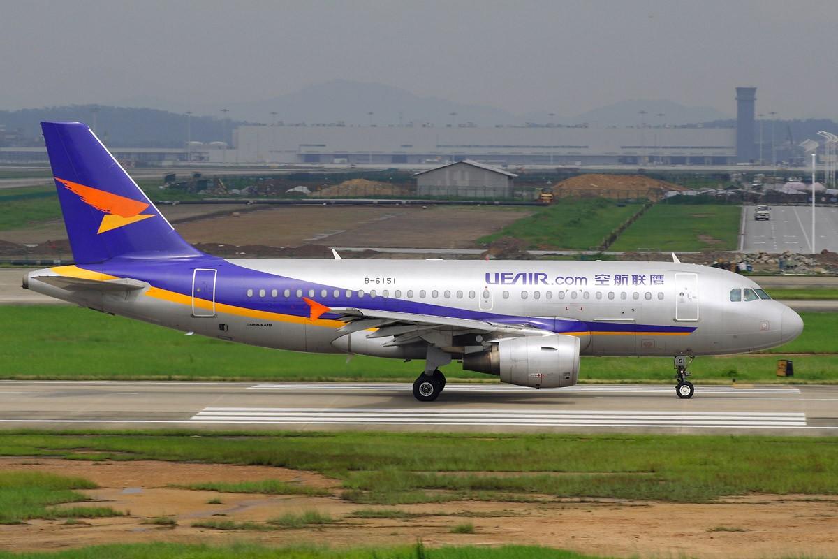 [原创][CASG]广州变幻无常的天气影响我交作业 AIRBUS A319-100 B-6151 中国广州白云机场