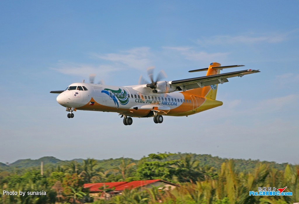 Re:[原创]菲律宾游记-----机场拍机(1)---国内少见的机型 ATR-72 RP-C7250 CATICLAN机场
