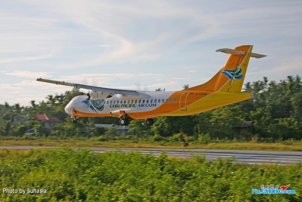 Re:[原创]菲律宾游记-----机场拍机(1)---国内少见的机型 ATR-72-500 (ATR-72-212A)  长滩