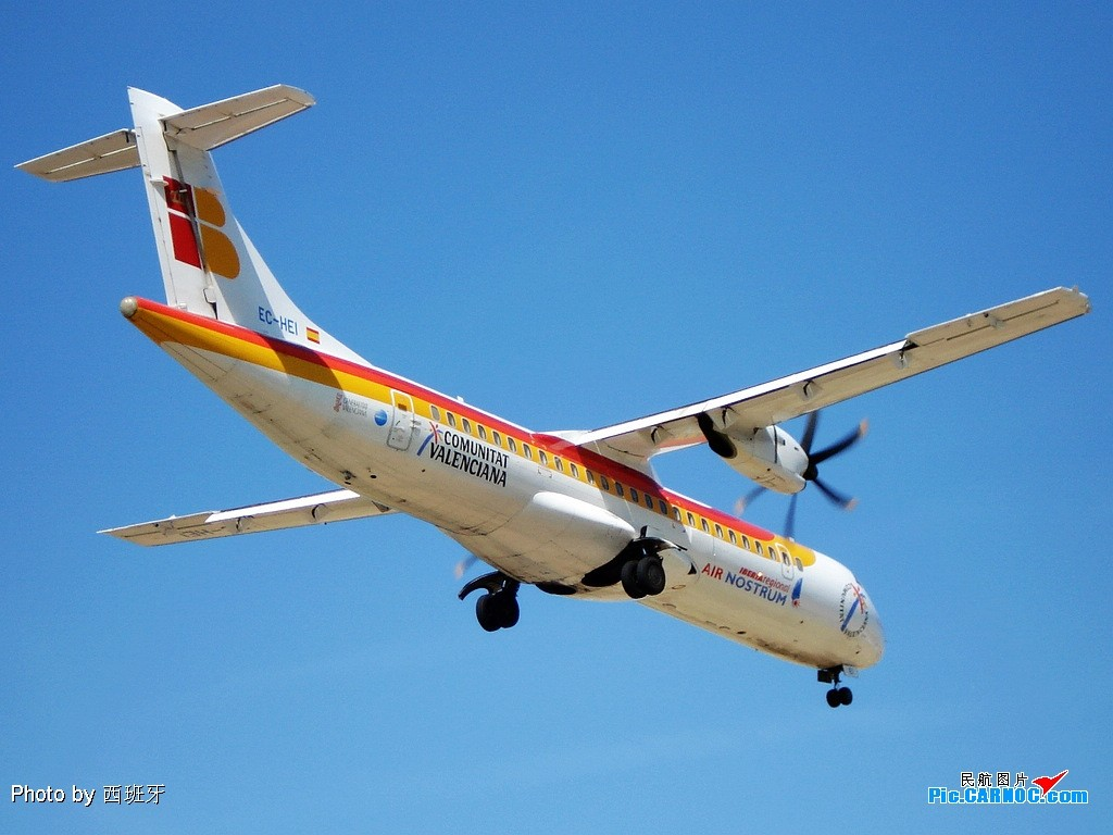 Re:[原创]国外拍机-----机场拍机(1)---国内少见的机型 ATR-72-500 (ATR-72-212A) EC-HEI ESPANA MALAGA