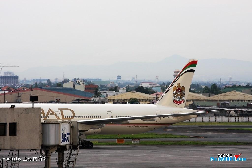 Re:[原创]阿联酋阿提哈德7770-300ER,他们说要换个角度再来一次 BOEING 777-300ER A6-ETD Philippines MANILA NINOY INTL