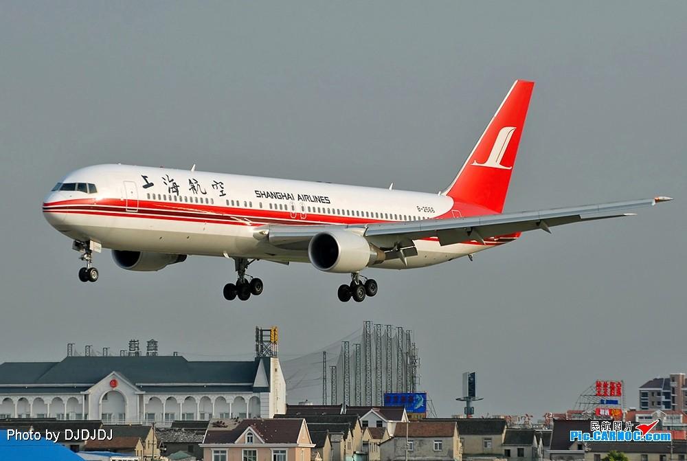 Re:上航大哥,36头飘降的763-2566 BOEING 767-300 B-2566 中国上海虹桥机场