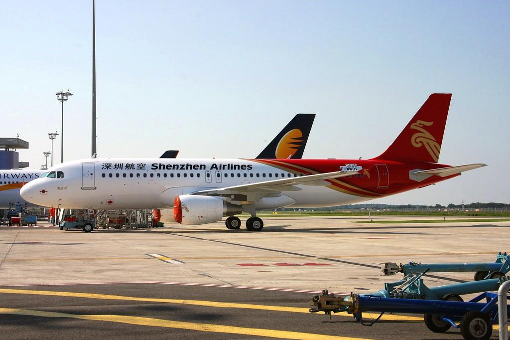 """新机抢先报:深圳航空""""南通号"""" AIRBUS A320-214 B-6360 France TOULOUSE BLAGNAC"""