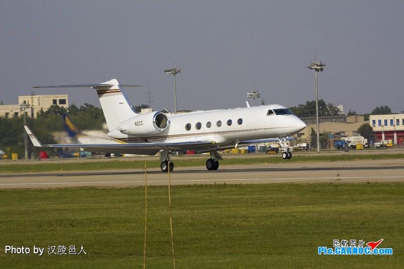 Re:[原创](跟老林拍湾流4)不知RAW好还是JPEG好 GULFSTREAM AEROSPACE GULFSTREAM IV N2CC 中国西安咸阳机场