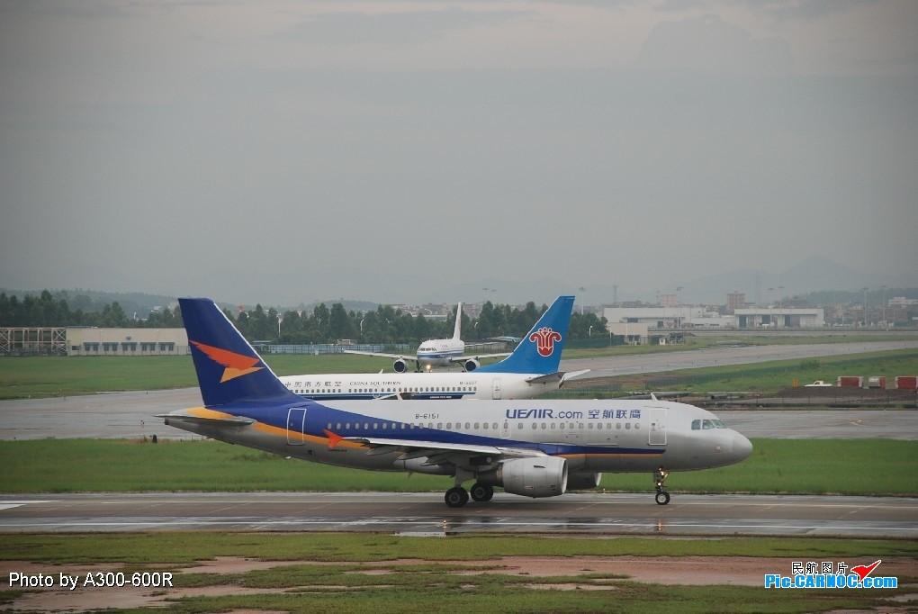 Re:[原创]鹰联航空公司A319-100 BOEING 767-300 B-6151 广州白云国际机场