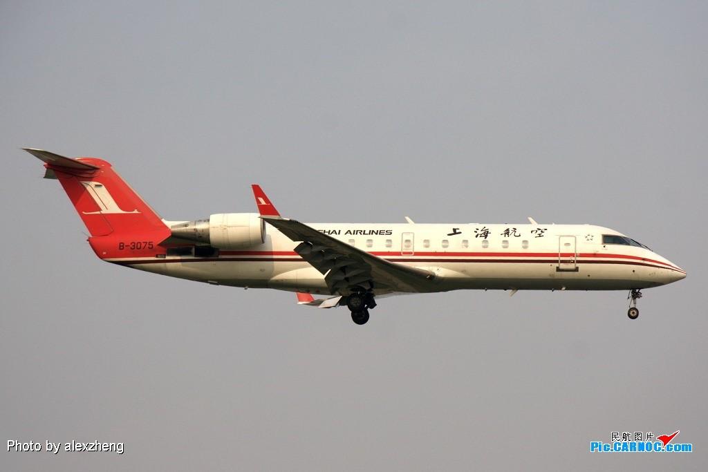 Re:[原创]烈日下的虹桥拍机 BOMBARDIER (CANADAIR) CRJ-200LR B-3075