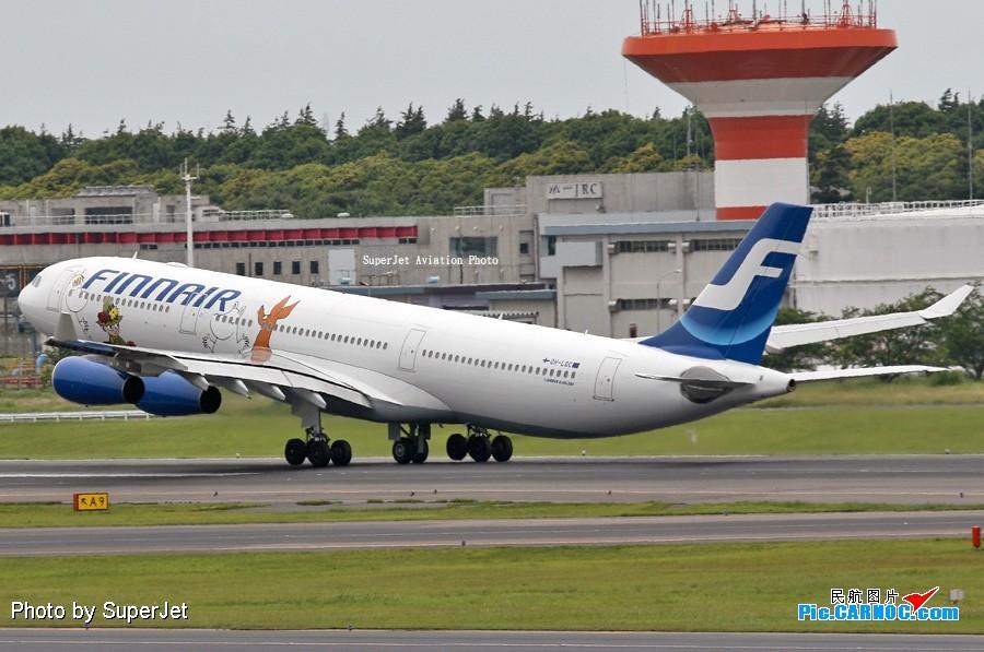 [原创]送給廣東朋友的手信--->姆明340 AIRBUS A340-300 OH-LOC Japan TOKYO NARITA