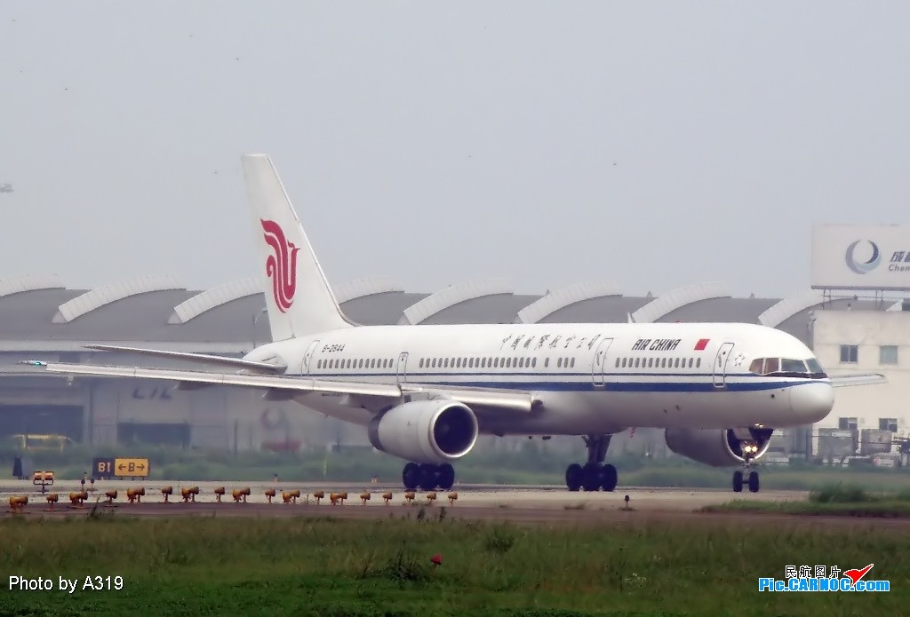Re:[原创]换个角度拍成都的大飞机 BOEING 757-200 B-2844 成都双流国际机场