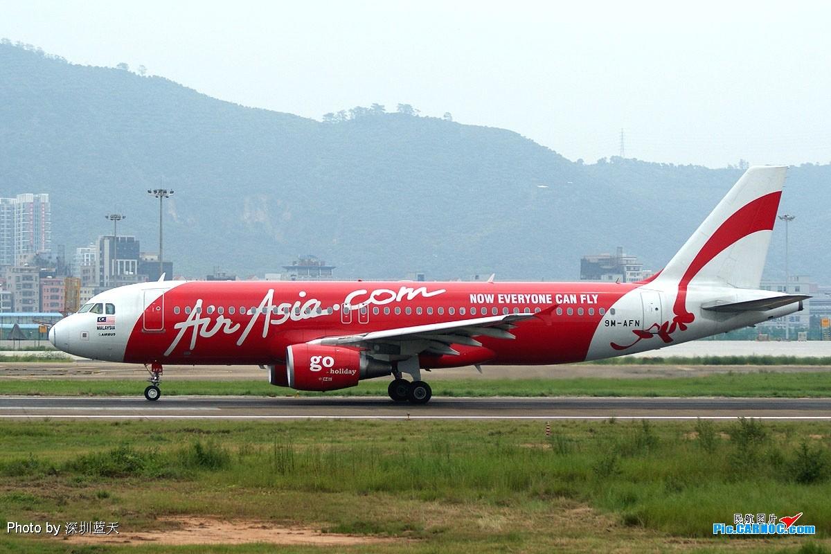 Re:【深圳打机队】2008年8月9日深圳机场拍到红领巾梦想号与曼谷热带鱼新品种 AIRBUS A320-200 9M-AFN 中国深圳宝安机场