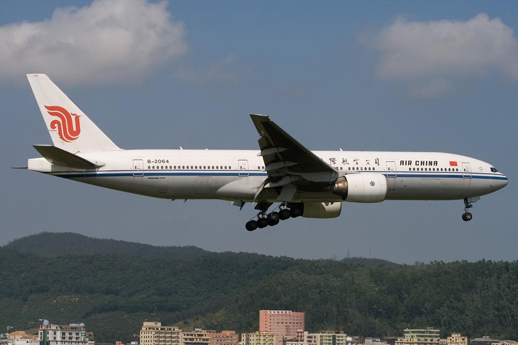 Re:[原创][深圳打机队]===证明存在贴=== BOEING 777-200 B-2064 中国深圳宝安机场