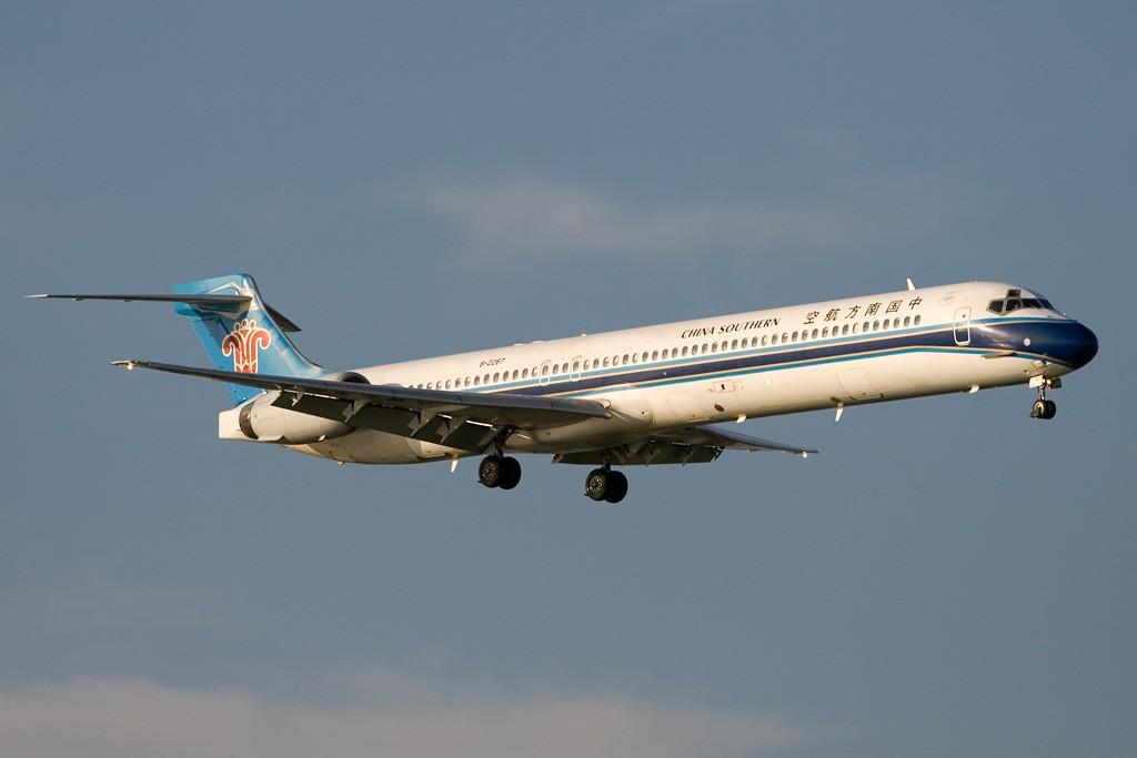 Re:[原创][深圳打机队]====台风后的盛宴==== MCDONNELL DOUGLAS MD-90 B-2267 中国深圳宝安机场