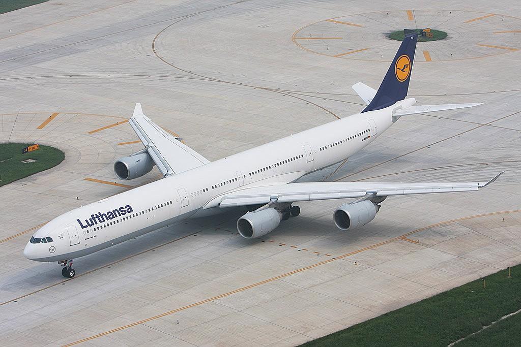 [原创]新买了小白,show一下——ZBAA外航(一) A340  ZBAA