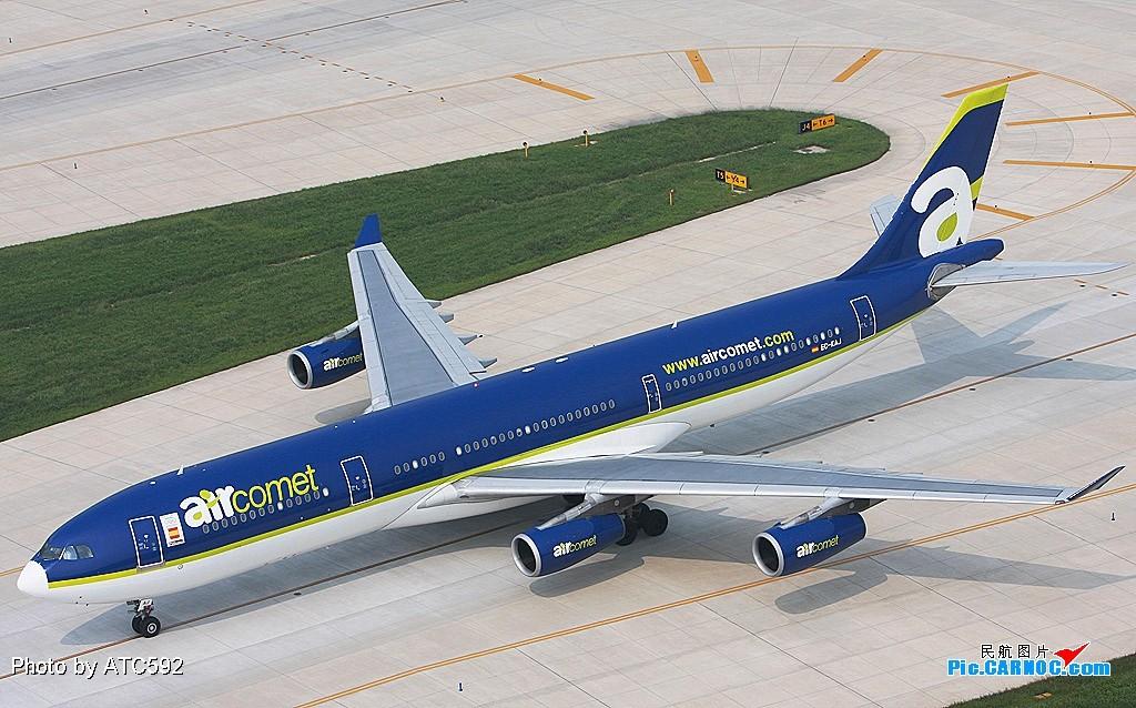 Re:[原创]新买了小白,show一下——ZBAA外航(一) A340 EC-KAJ ZBAA