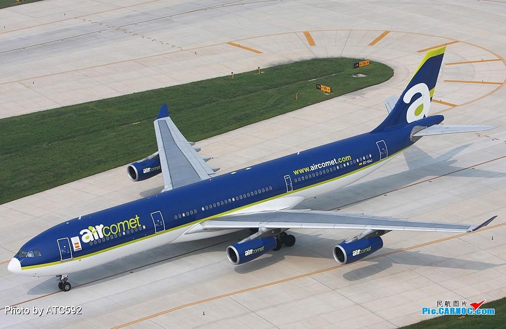 Re:[原创]新买了小白,show一下——ZBAA外航(一) A340 EC-KAL ZBAA