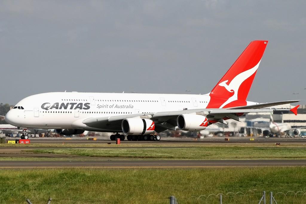 [原创]我也来个首发!!!QANTAS第一架A380今日飞抵悉尼,从此开启380时代! AIRBUS A380 VH-OQA Australia SYDNEY KINGSFORD