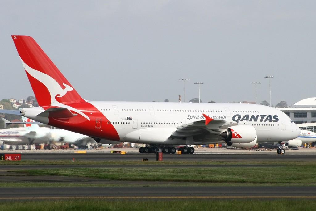 Re:[原创]我也来个首发!!!QANTAS第一架A380今日飞抵悉尼,从此开启380时代! AIRBUS A380 VH-OQA Australia SYDNEY KINGSFORD