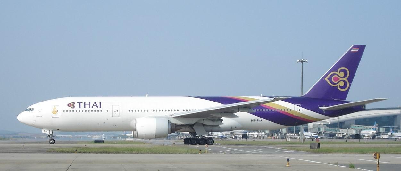 Re:十一国庆贴图 BOEING 777-200 HS-TJA 中国广州白云机场