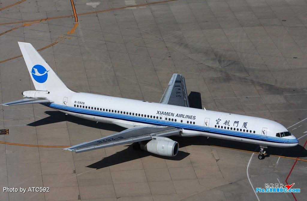 [原创]转换阵地——到西边啦~~ BOEING 757-200 B-2828 中国北京首都机场